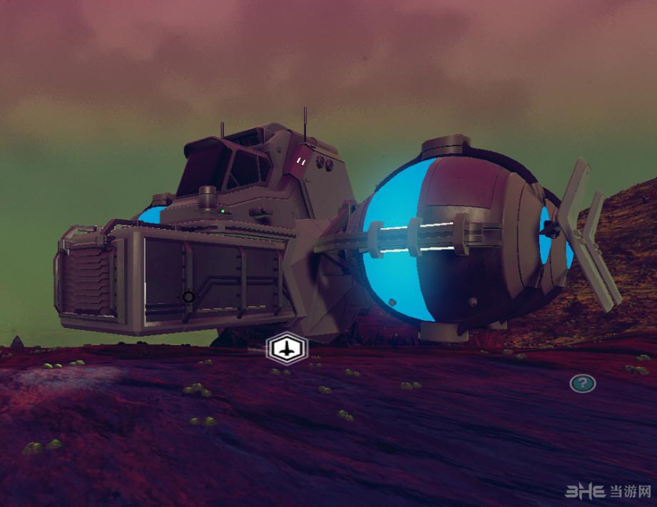 无人深空运输机球光色改变mod截图5