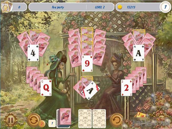 纸牌游戏:维多利亚野餐截图2