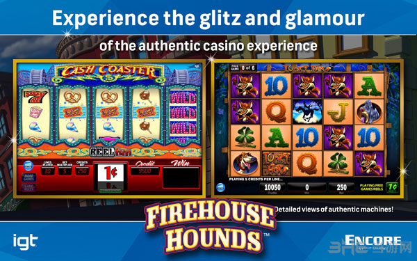 IGT游戏机:消防犬截图1