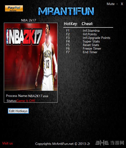 NBA 2K17����������ͼ0