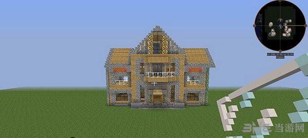 我的世界asjd别墅地图MOD截图4