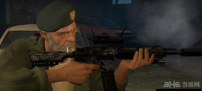 求生之路2消音型HK416突击步枪MOD截图0