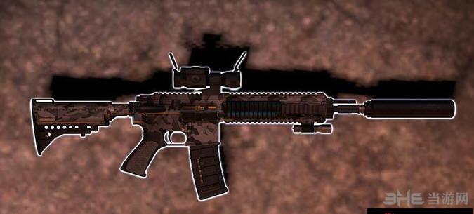 求生之路2消音型HK416突击步枪MOD截图1