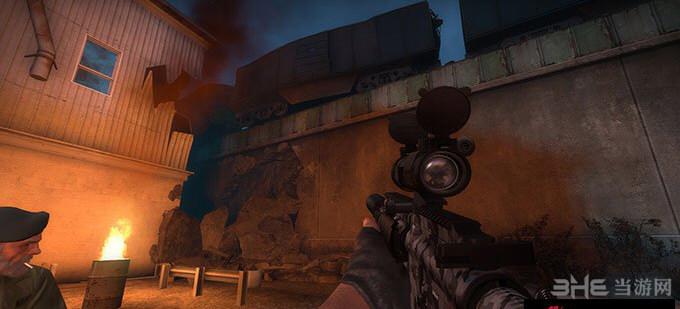 求生之路2消音型HK416突击步枪MOD截图2
