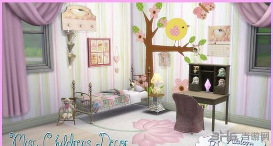 模拟人生4儿童卧室MOD截图0