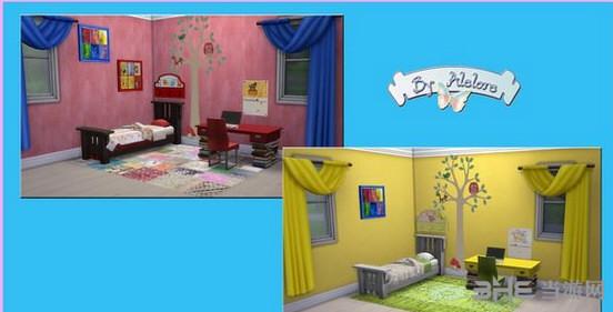 模拟人生4儿童卧室MOD截图1