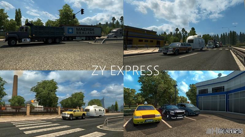 欧洲卡车模拟2美卡AI替换MOD截图0