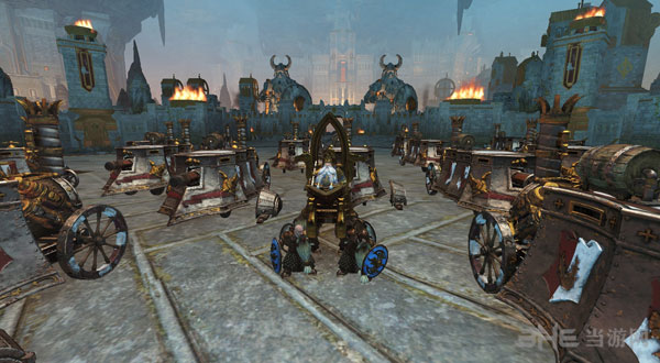 全面战争:战锤矮人蒸汽坦克MOD截图0