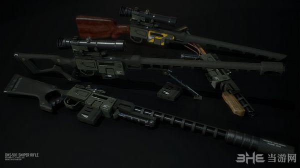 辐射4狙击步枪DKS-501 MOD截图1
