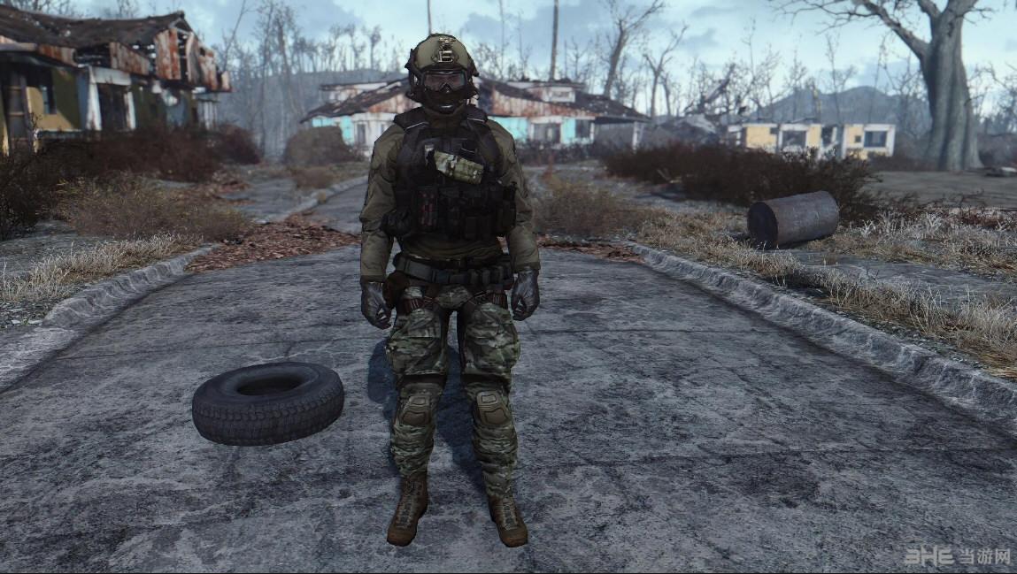 辐射4战地4服装包MOD截图0