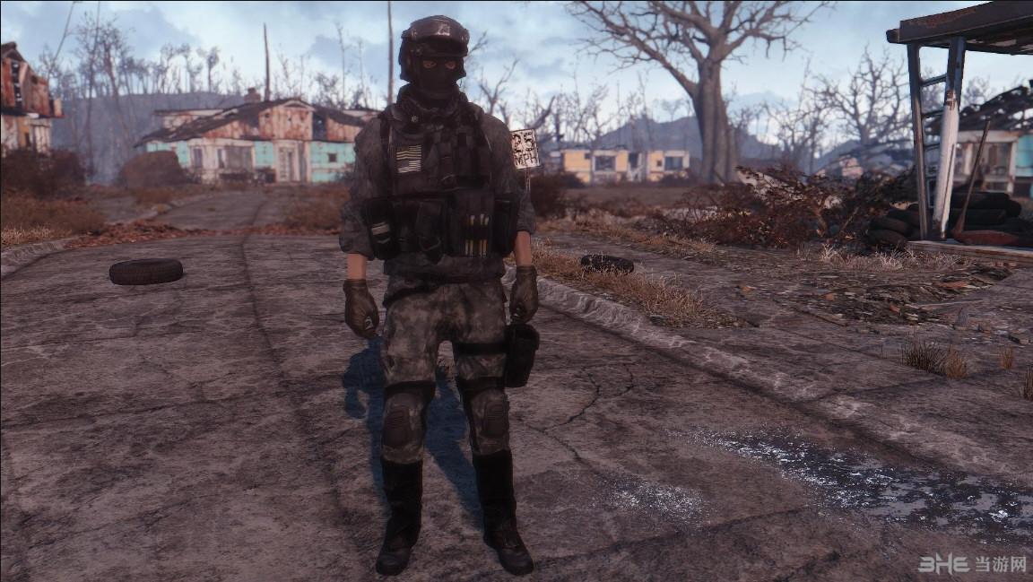 辐射4战地4服装包MOD截图1