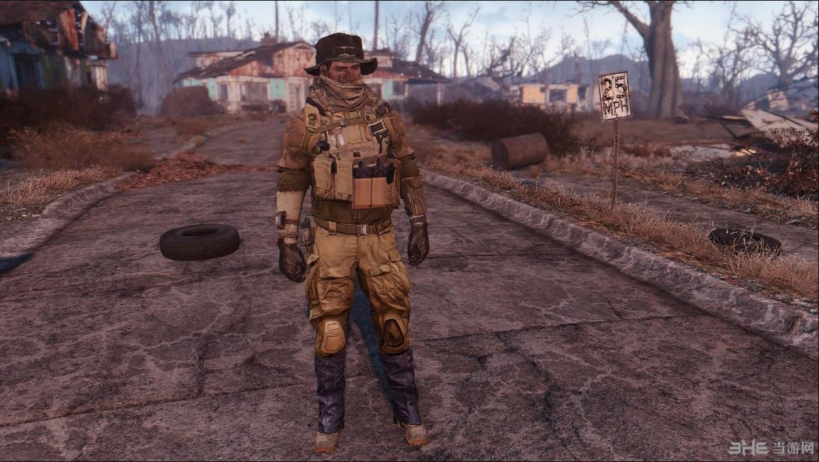 辐射4战地4服装包MOD截图2