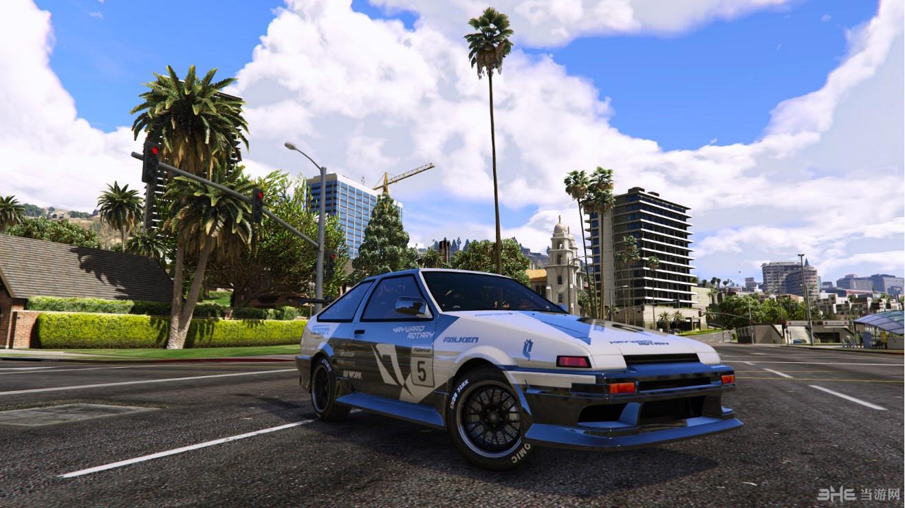 侠盗猎车手5 AE86 (Forza Motorsport 4) Mod截图0