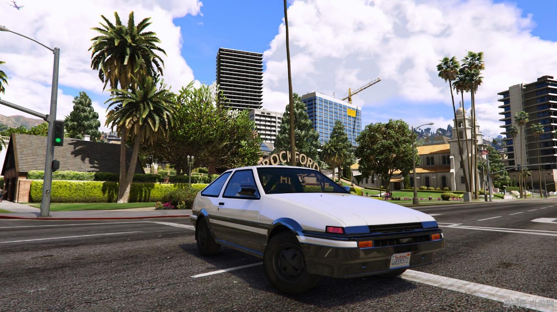 侠盗猎车手5 AE86 (Forza Motorsport 4) Mod截图1