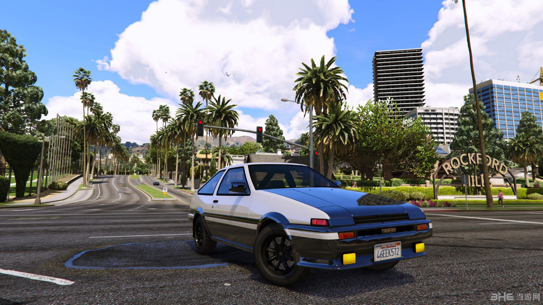 侠盗猎车手5 AE86 (Forza Motorsport 4) Mod截图2