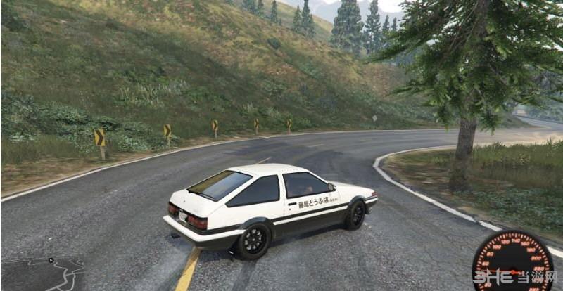 侠盗猎车手5 AE86低出力MOD截图0