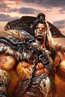 魔兽世界德拉诺之王官方超清壁纸 兽人家园保卫战争