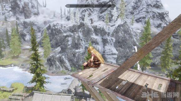 上古卷轴5天际高空俯瞰溪木镇MOD截图0