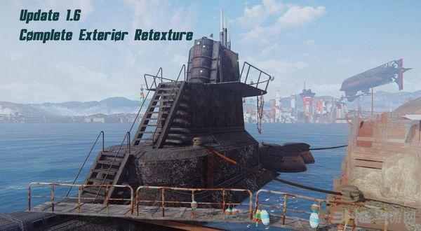 辐射4不屈号潜艇(住宅)MOD截图0