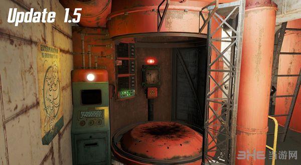 辐射4不屈号潜艇(住宅)MOD截图3