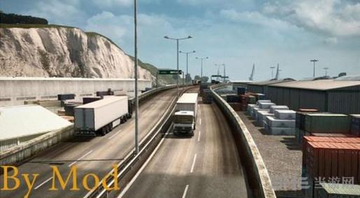欧洲卡车模拟2效果体验提示MOD截图1