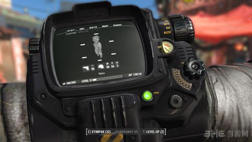 辐射4崭新的黑色pp小子MOD截图0