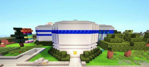 我的世界1.10.2皮斯顿别墅地图MOD截图1
