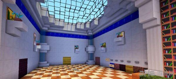 我的世界1.10.2皮斯顿别墅地图MOD截图3