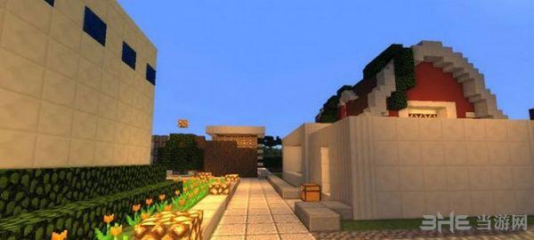 我的世界1.10.2皮斯顿别墅地图MOD截图4