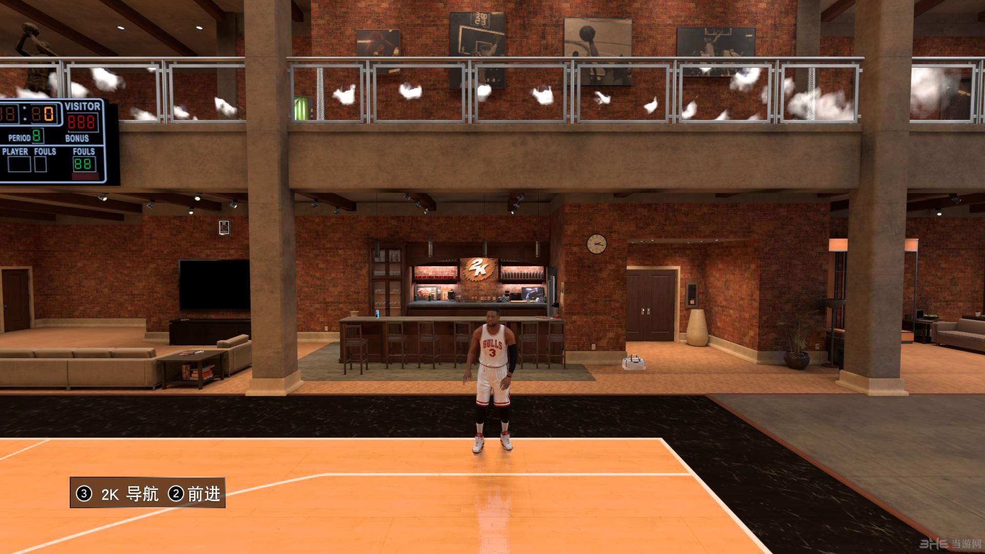 NBA 2K17威斯布鲁克韦德MC面补存档截图1