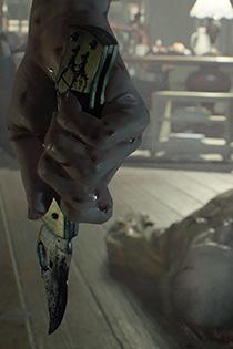 生化危机7游戏截图欣赏 诡异场面阴森寒意扑面袭来