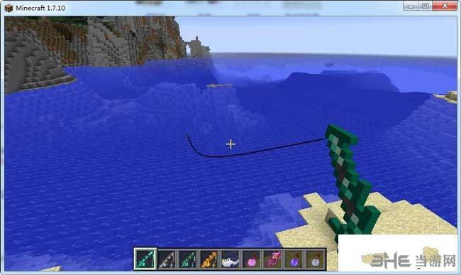 我的世界1.7.10钓鱼拓展MOD截图1