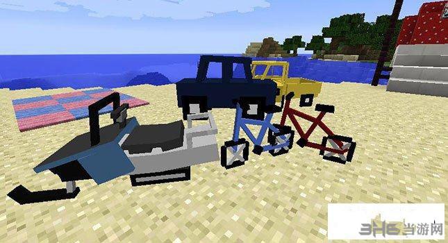 我的世界1.7.2更多交通工具MOD截图3