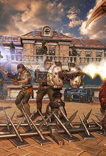 战争机器4壁纸欣