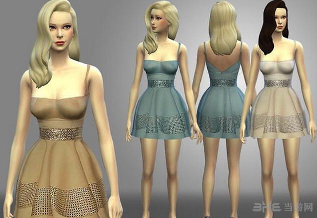 模拟人生4三色礼服MOD截图0