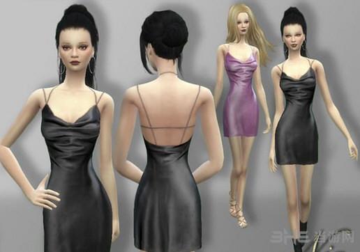 模拟人生4迷你连衣裙MOD截图0
