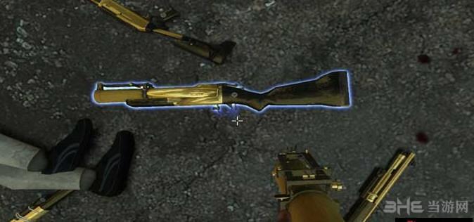 求生之路2黄金地狱榴弹枪MOD截图1