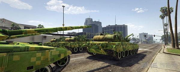 侠盗猎车手5军迷福利99A主战坦克MOD截图1