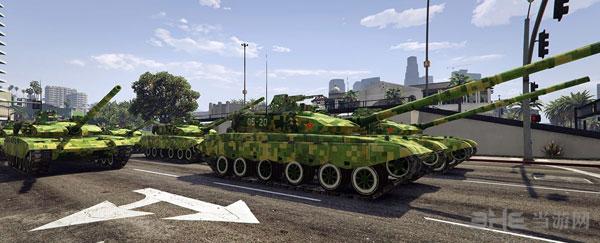 侠盗猎车手5军迷福利99A主战坦克MOD截图0