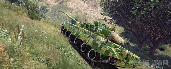 侠盗猎车手5军迷福利99A主战坦克MOD截图3