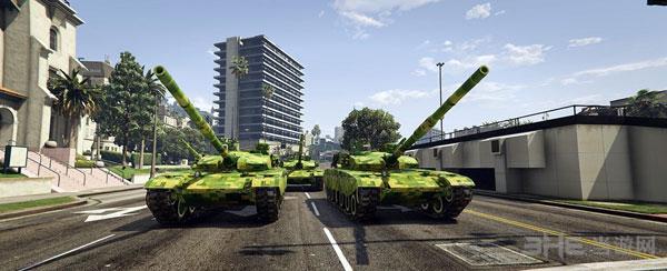 侠盗猎车手5军迷福利99A主战坦克MOD截图2