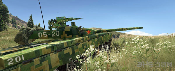 侠盗猎车手5军迷福利99A主战坦克MOD截图5