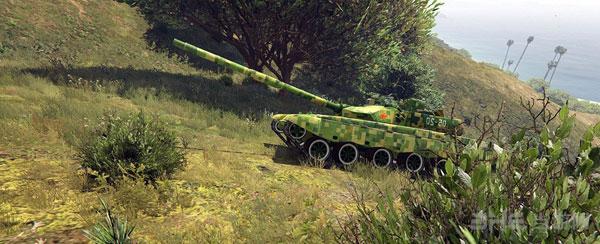 侠盗猎车手5军迷福利99A主战坦克MOD截图4