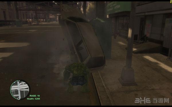 侠盗猎车手4绿巨人人物MOD截图2