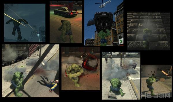 侠盗猎车手4绿巨人人物MOD截图4