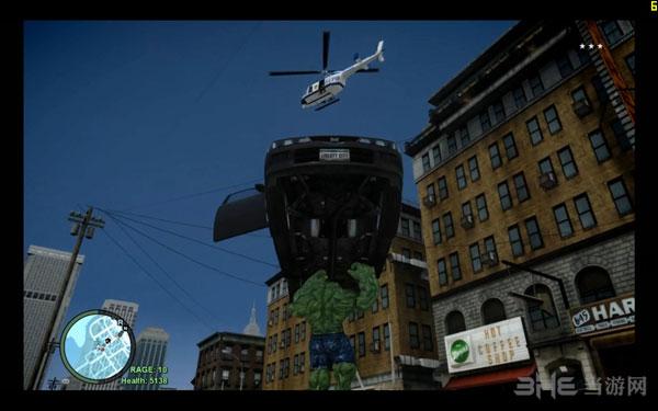 侠盗猎车手4绿巨人人物MOD截图3