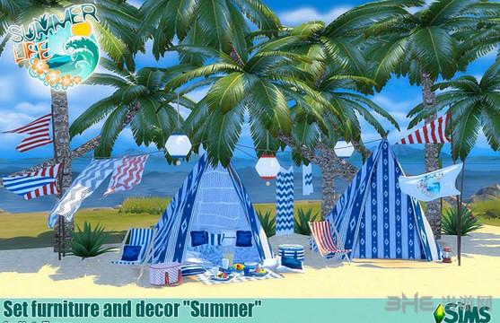 模拟人生4夏日生活MOD截图0