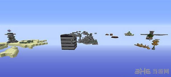 我的世界1.7.2空岛生存地图MOD截图0