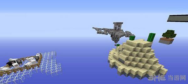 我的世界1.7.2空岛生存地图MOD截图3