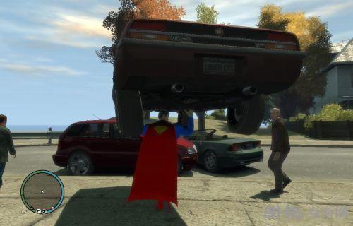 侠盗猎车手4超级英雄超能力模式超人MOD截图1